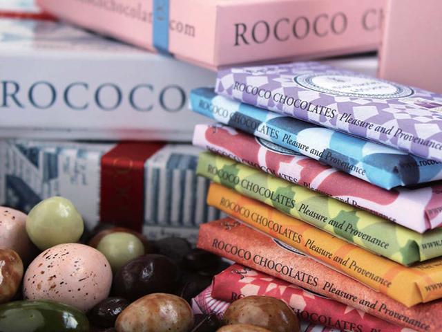 倫敦ROCOCO Chocolates 充滿法式品味巧克力
