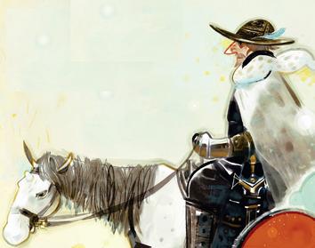 邊境的老騎士